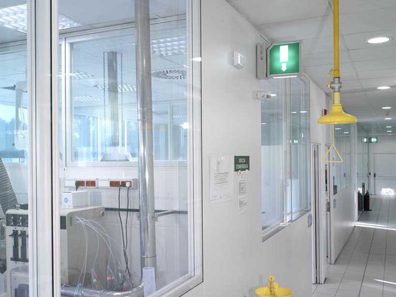 Realizzazione laboratori e camere bianche - Nestlé Lab Padova 01