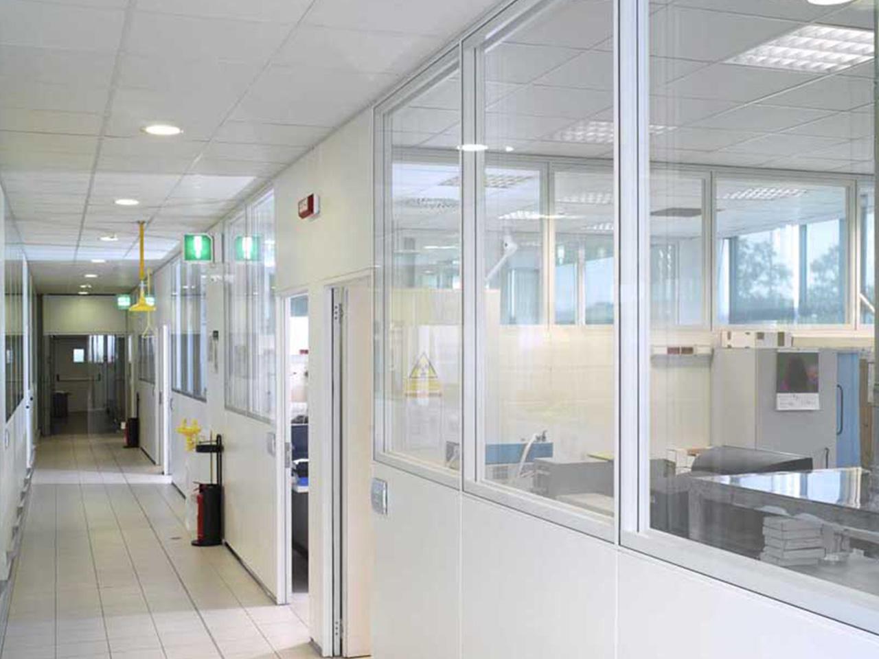 Realizzazione laboratori e camere bianche - Nestlé Lab Padova 02