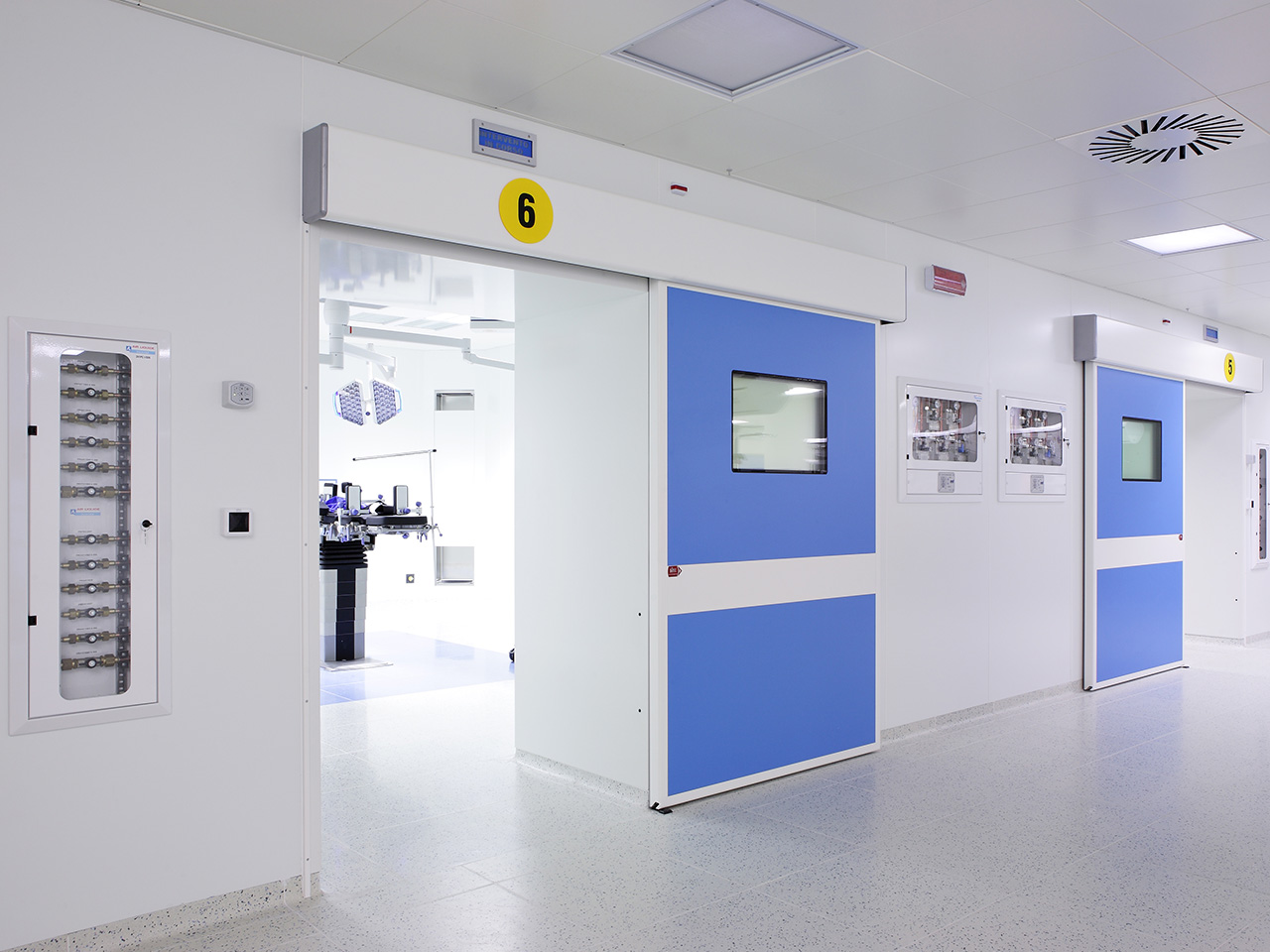 Development of OR, ICU & ER WARDS hospital areas - Conegliano Italy 10