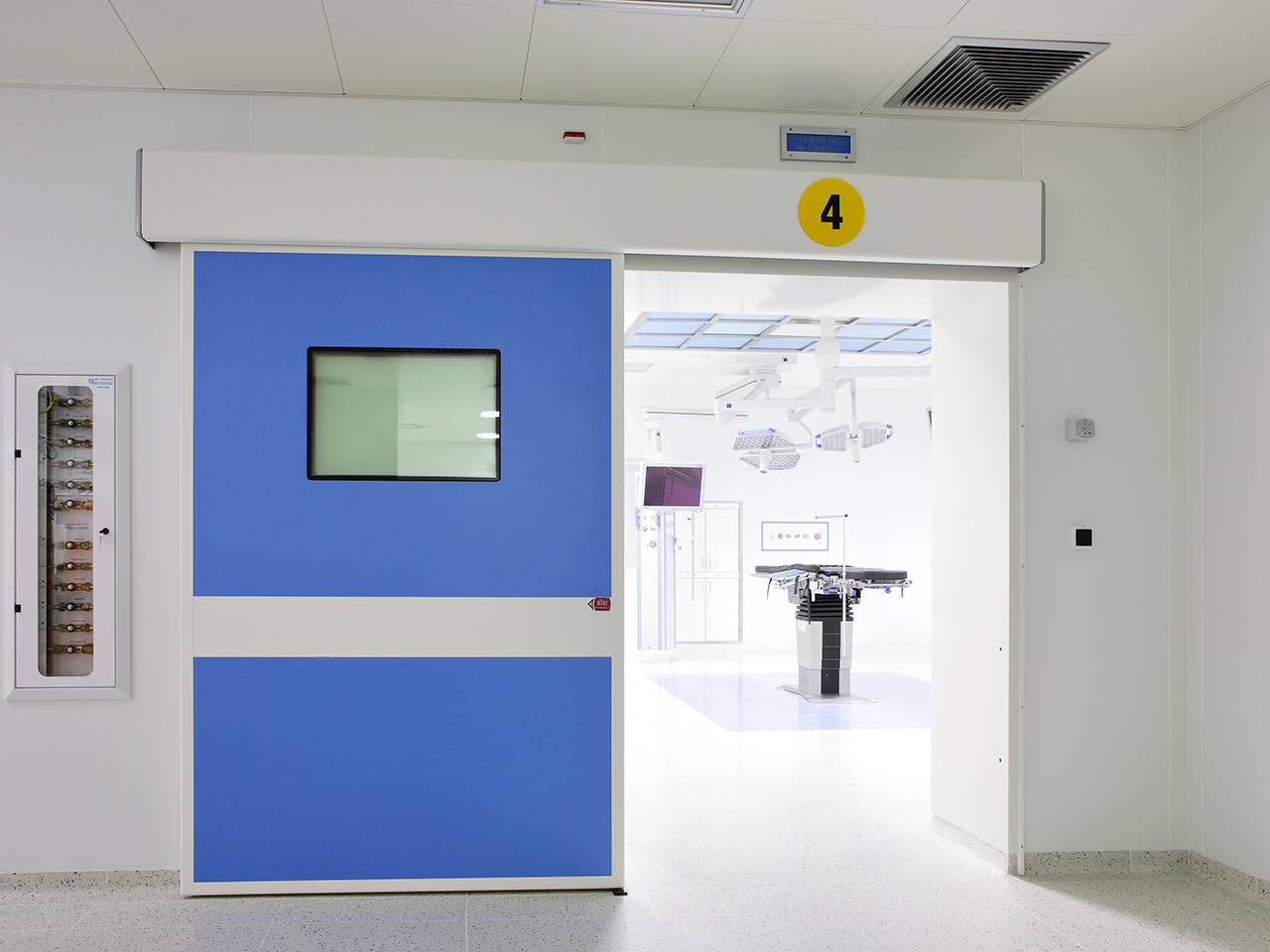 Development of OR, ICU & ER WARDS hospital areas - Conegliano Italy 19