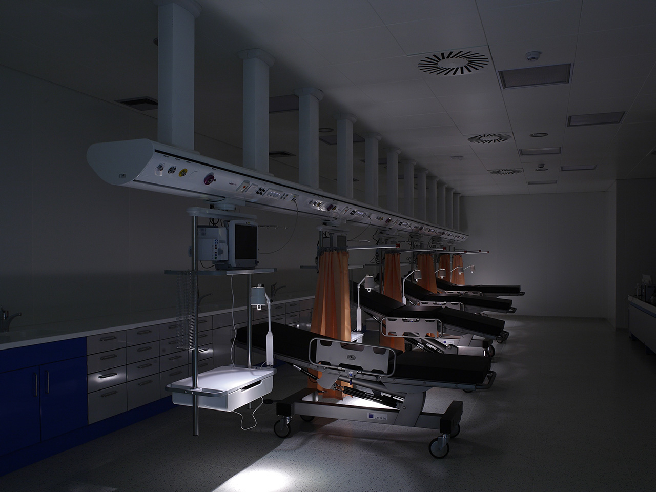 Development of OR, ICU & ER WARDS hospital areas - Conegliano Italy 07