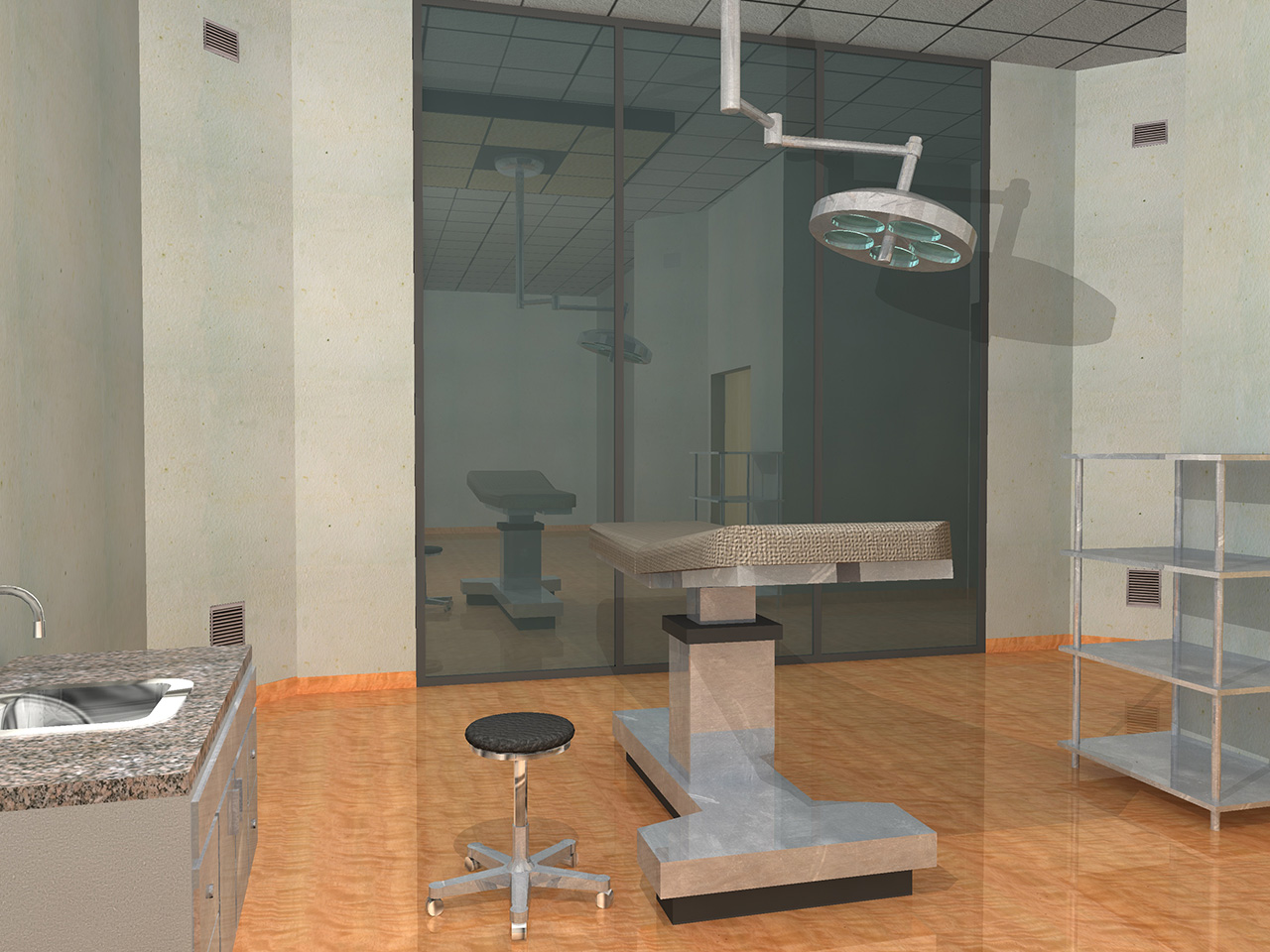 Development of outpatient clinic areas - Padova Italy 01
