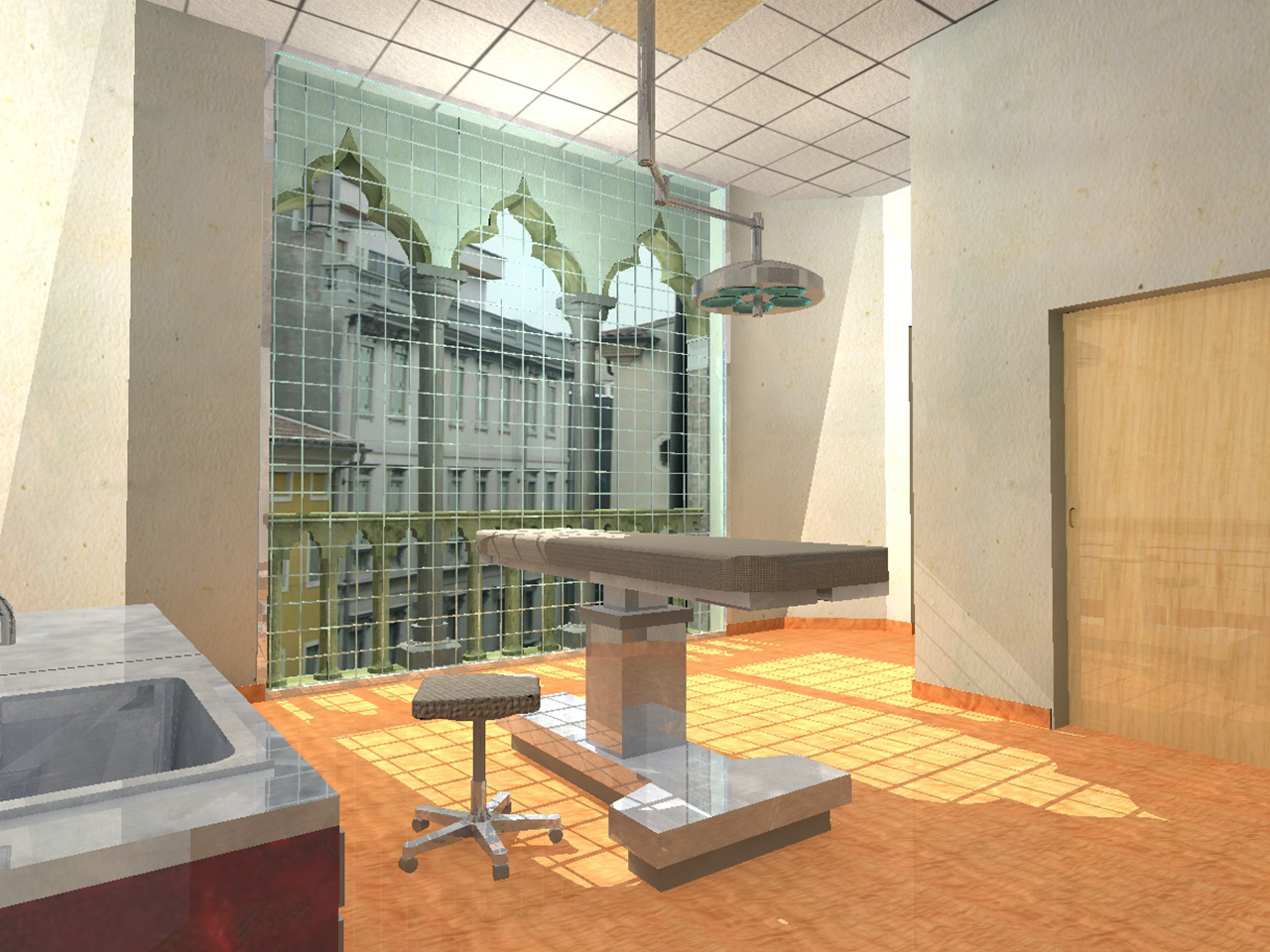 Development of outpatient clinic areas - Padova Italy 03