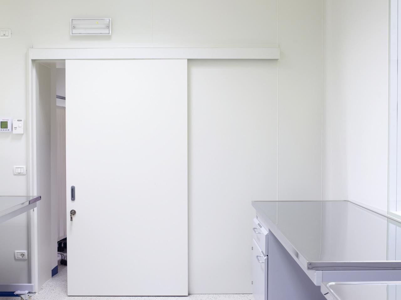 Realizzazione laboratori e camere bianche - Ospedale Busonera 01
