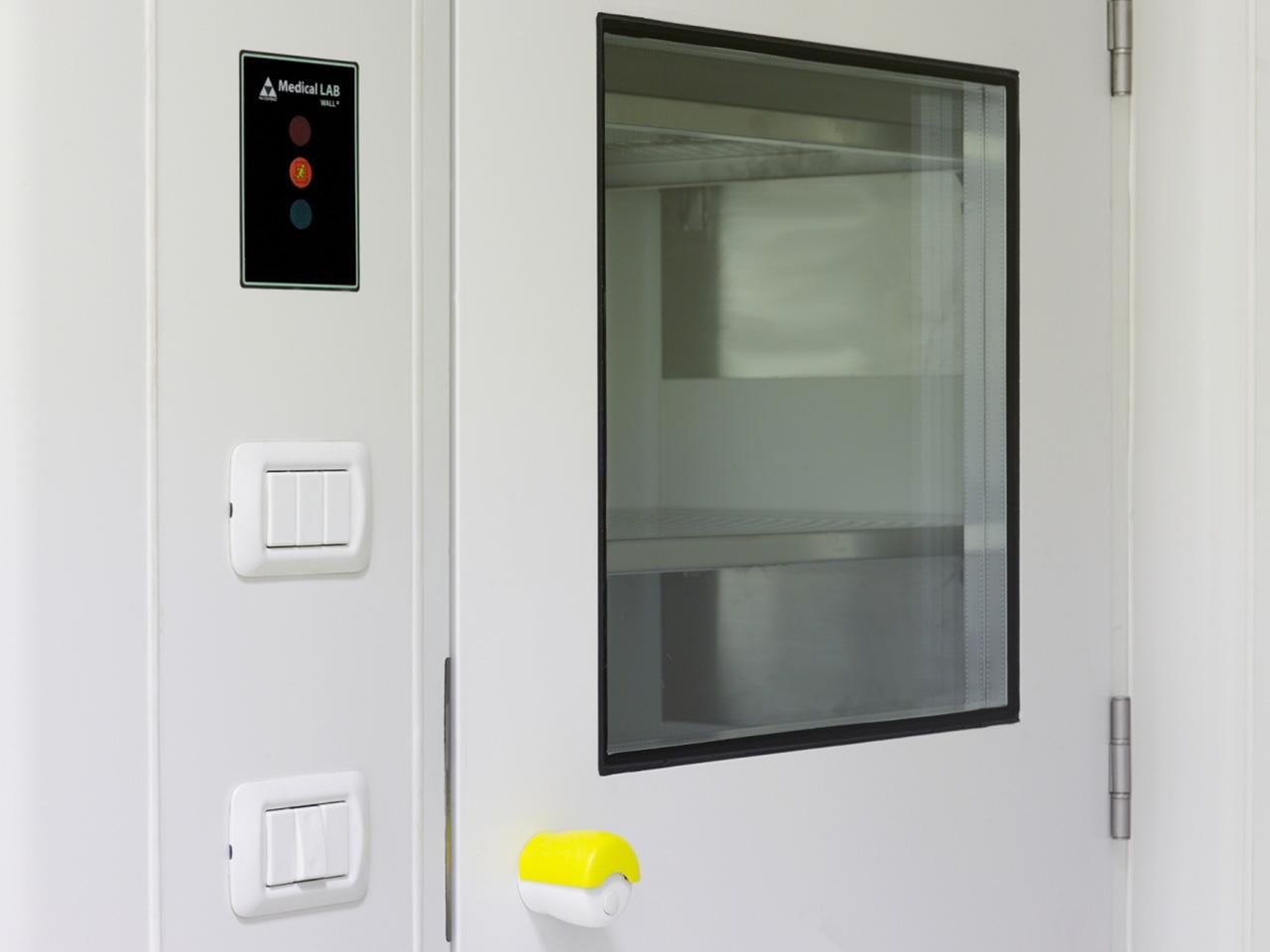 Realizzazione laboratori e camere bianche - Ospedale Busonera 02