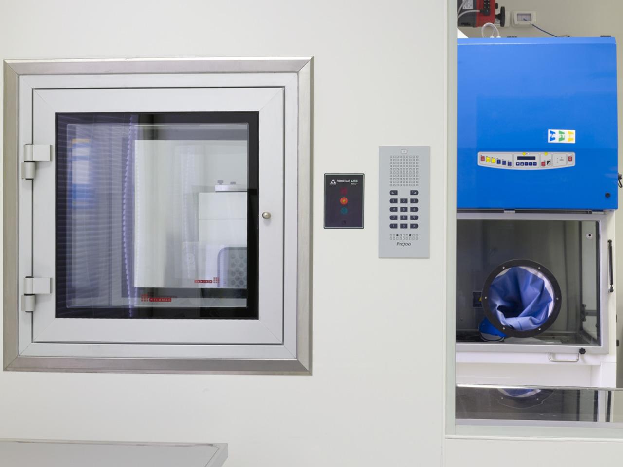 Realizzazione laboratori e camere bianche - Ospedale Busonera 06